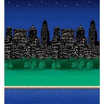 Fadeless 48X50 City Lights Roll By Pacon