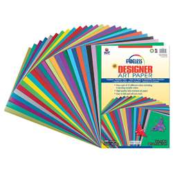 Fadeless Designer Paper Assorted 12X18 100 Sheets By Pacon