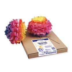 Tissue Flower Kit Party Pack 84 Flowers, PAC59660