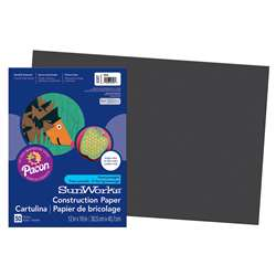 "Construction Paper Black 12"" X 18"" By Pacon"