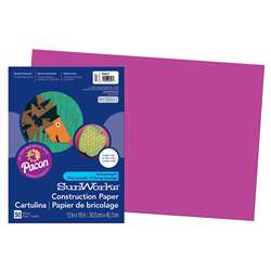 Construction Paper Magenta 12X18 By Pacon
