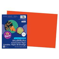 Construction Paper Orange 12X18 By Pacon