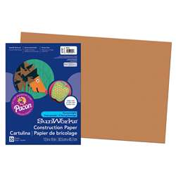 Construction Paper Brown 12X18 By Pacon