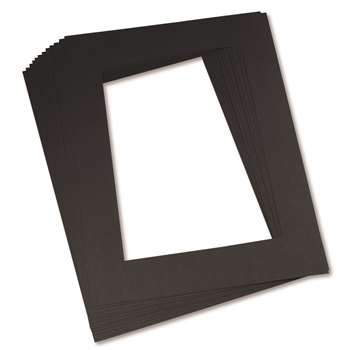 "Black Frames 9"" X 12"" By Pacon"