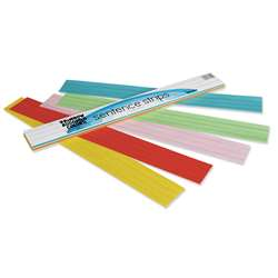 Rainbow Kraft Sentence Strips By Pacon