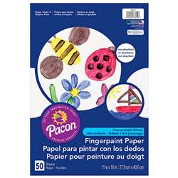"Fingerpaint Paper 11""X16"" By Pacon"