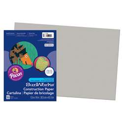 Construction Paper Gray 12X18 By Pacon