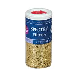 Glitter 4Oz Gold By Pacon