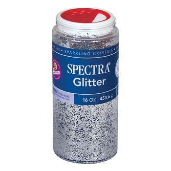 Glitter 1 Lb Silver By Pacon