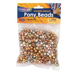 Pony Beads Metallic, PACAC3549