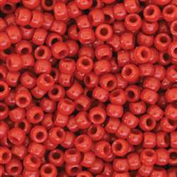 Pony Beads Red 1000 Pieces, PACAC355206
