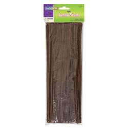 Jumbo Stems Brown 100 Pieces, PACAC711013