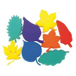 Leaf Shape Sponges Asst Of 8 Dip Print, PACAC9077