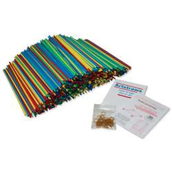 4Mm Colored Artstraws 1800 Count, PACAC9230