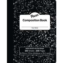Composition Notebook 100 Ct 975x75, PACMMK37101
