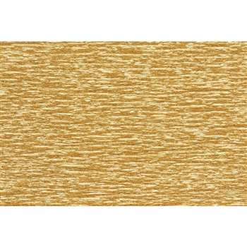 Extra Fine Crepe Paper Metallic Gld, PACPLG11002