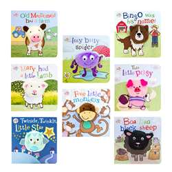 Parragon Finger Puppet Board Set Of 8 Titles, PAGFPBSET