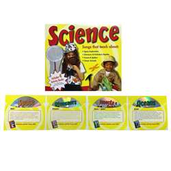 Science Songs 4 Cd Set, PBSCTM1080