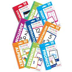Set Of 9 Flashcard Bundle, PBSERST2001