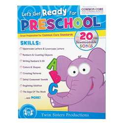 Ready For Pre K Bind Up Workbook, PBSTW4041
