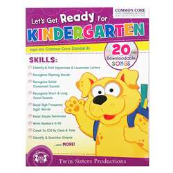 Ready For Grade K Bind Up Workbook, PBSTW4042