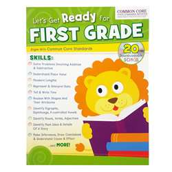 Ready For 1St Gr Bind Up Workbook, PBSTW4045
