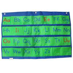 Alphabet Pocket Chart, PC-1056