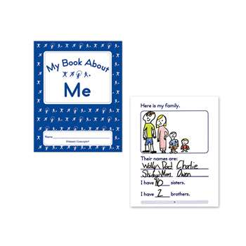 My Book About Me Set Of 5, PC-1256