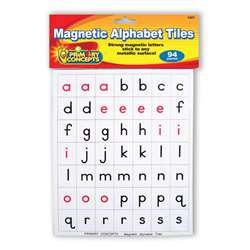 Shop Magnetic Alphabet Tiles - Pc-1421 By Primary Concepts