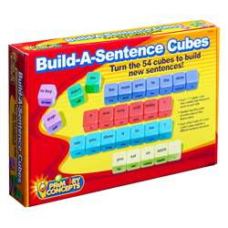 Build A Sentence Cubes, PC-1775
