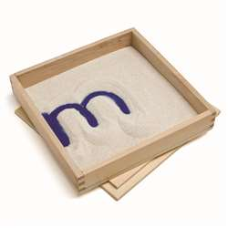 Letter Formation Sand Trays 4 Set, PC-2012
