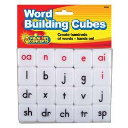 Word Building Cubes, PC-3938