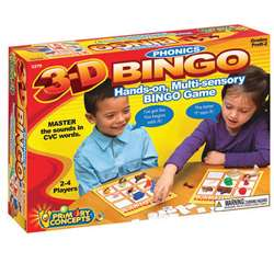3-D Phonics Bingo, PC-5279