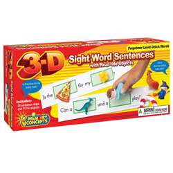 3-D Sight Word Sentences Preprimer Level Dolch Wor, PC-5280