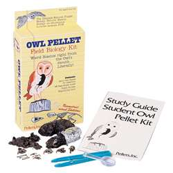 Student Owl Field Biology Kit 2 Pellets By Pellets