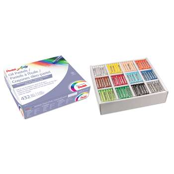Pentel Oil Pastel Class Pack 432Ct By Pentel Of America