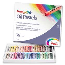 Pentel Oil Pastels 36 Ct By Pentel Of America