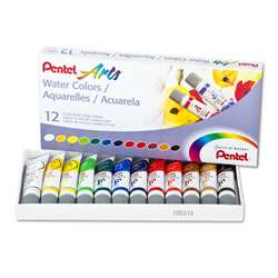 12 Color Pentel Arts Watercolor Set, PENWFRS12