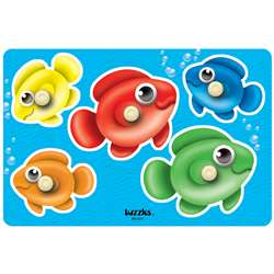 Bubble Fish Peg Puzzle, PPAKN074