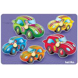 Clever Cars Peg Puzzle, PPAKN2X3028