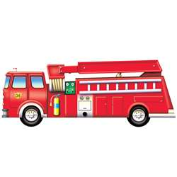 Fire Engine Floor Puzzle, PPATP018
