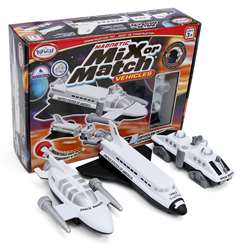 Magnetic Vehicles Space Mix Or Match, PPY60318