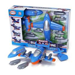 Magnetic Build A Truck Plane, PPY60501