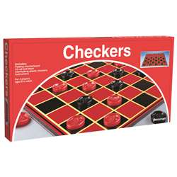 Checkers With Folding Board By Pressman Toys