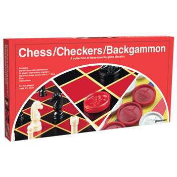 Chess/Checkers/Backgammon By Pressman Toys