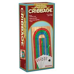 Folding Cribbage With Cards In Box Sleeve By Pressman Toys