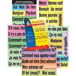 High-Freq Vocab Card Set French, PSZP145R