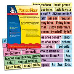 High-Freq Vocab Card Set Spanish, PSZP245R