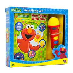 Book Box And Module Elmo Microphone By Publications International Ltd