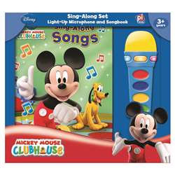 Book Box And Module Mickey Mouse Clubhouse Microphone By Publications International Ltd